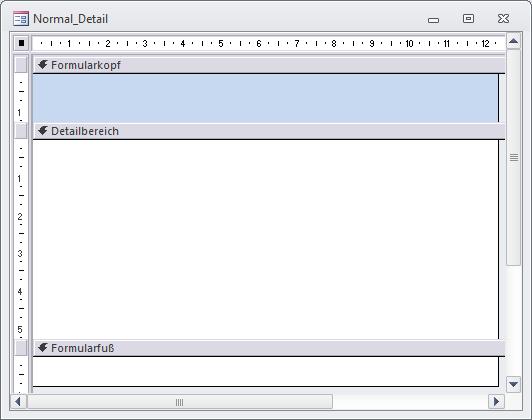 Formular- und Berichtsvorlagen - Startseite